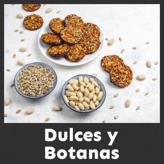 Dulces y Botanas